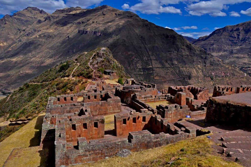 Pisac Ruins - in the sacred valley cusco Peru