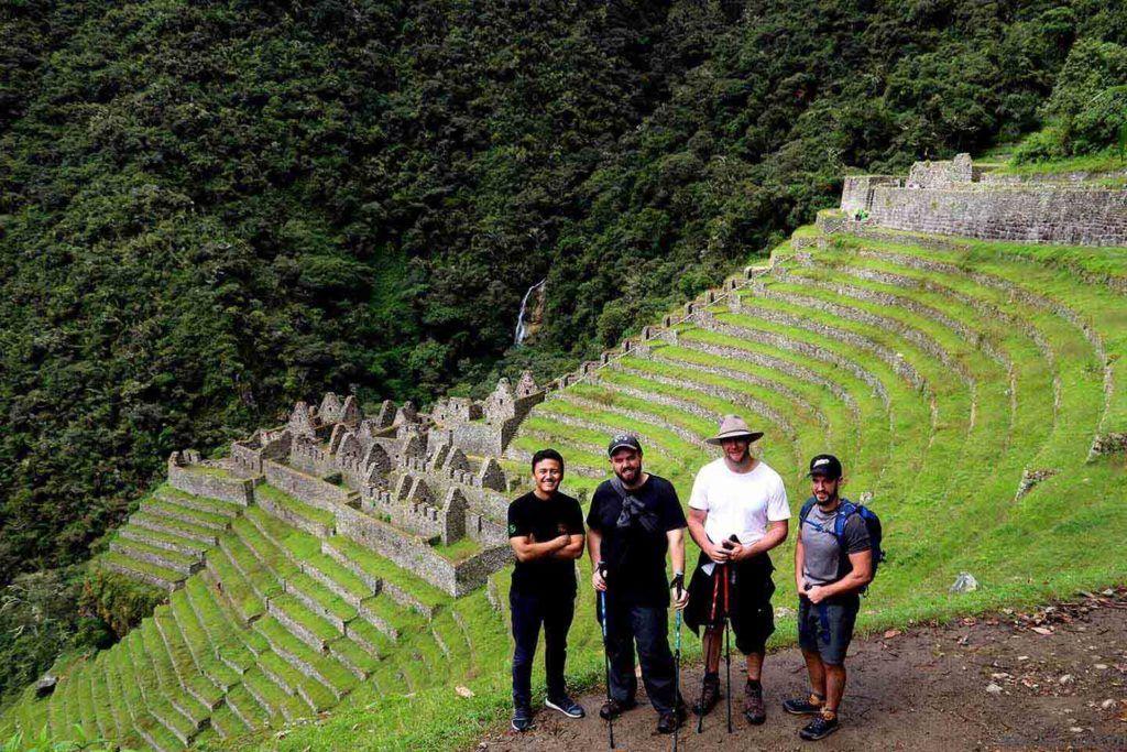 Wiñay Wayna City in the inka trail classic