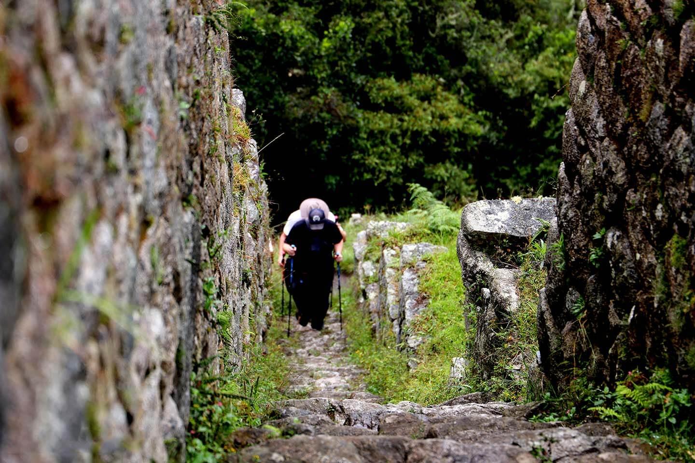 Inka trail classic stairs