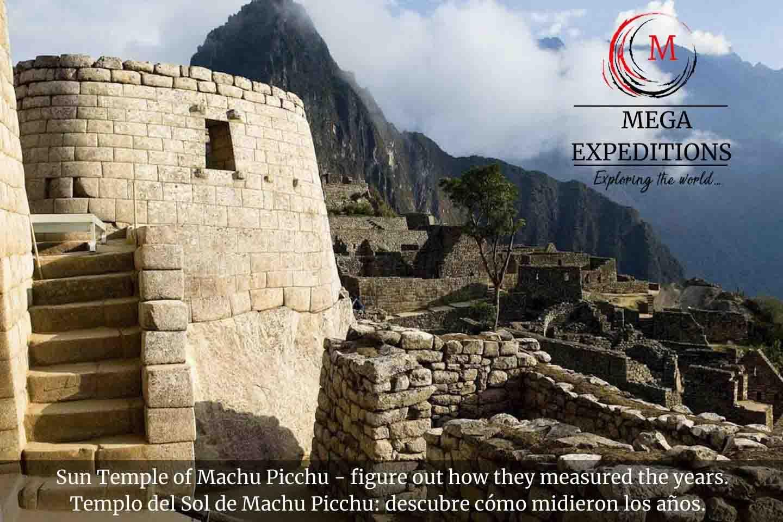 Sun Temple of Machu Picchu - figure out how they measured the years. Templo del Sol de Machu Picchu: descubre cómo midieron los años.