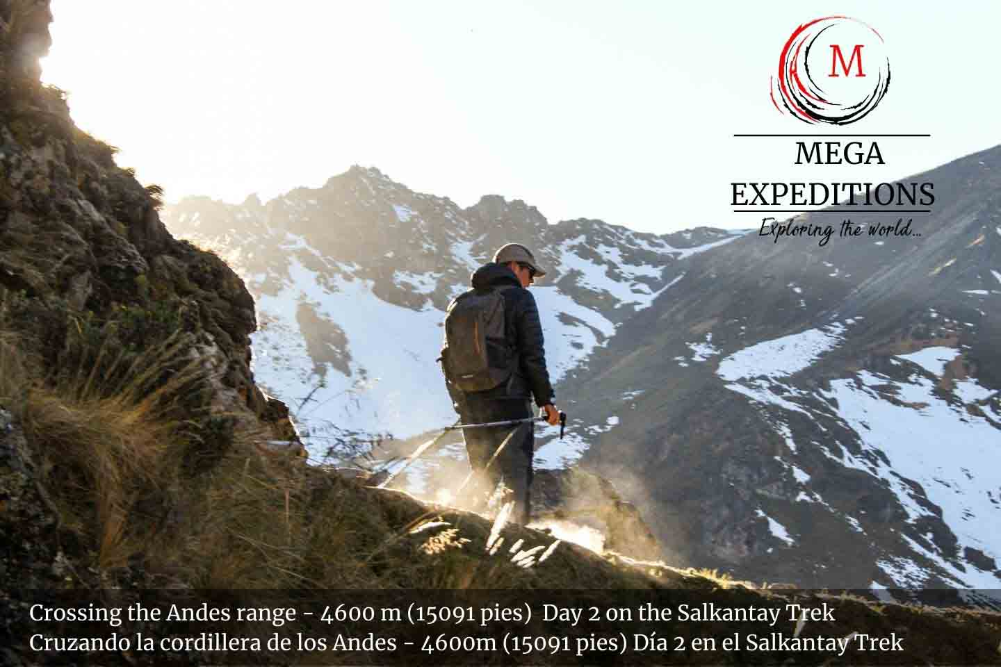 Salkantay Pass - the edge of the Andes Range