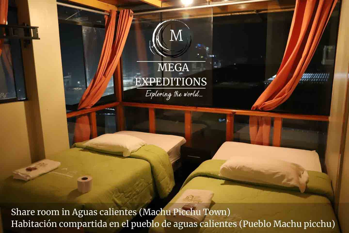 Hotel in Machu Picchu Town. Private room for couples and groups.