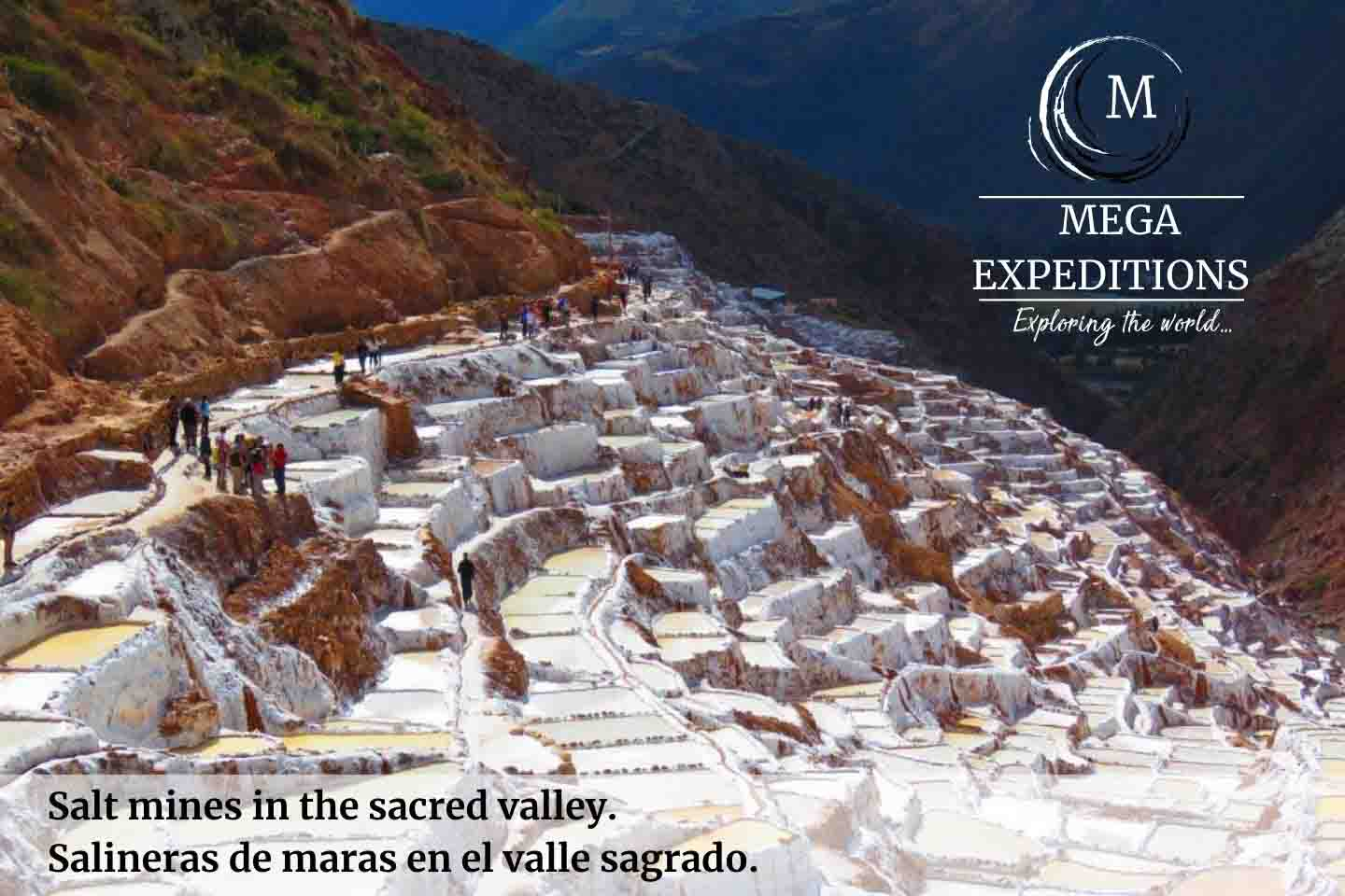 Salt mines in the sacred valley of the Inkas