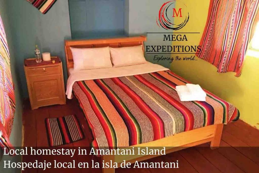 Local homestay in Amantani Island Hospedaje local en la isla de Amantani